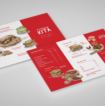 Tetangga Kita Branding and Visualization